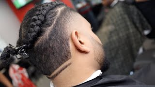 Tutorial! Crazy Faded Haircut with Design And Beard Work HD 2019