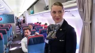 أقلاع أول طائرة في رحلة مجدولة للخطوط الجوية التركية من مطار إسطنبول الجديد