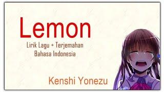 Gambar cover Lemon by Kenshi Yonezu - lirik dan terjemahan (lagu jepang sedih)