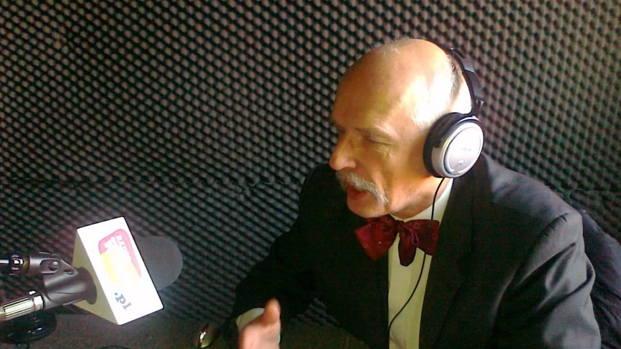 Janusz Korwin-Mikke w Radio WNET 05-03-2012
