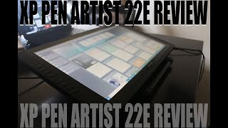 XP-Pen Artist 22E Review