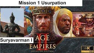 Age Of Empires II Definitive Edition Campaign Suryavarman I 1 Usurpation