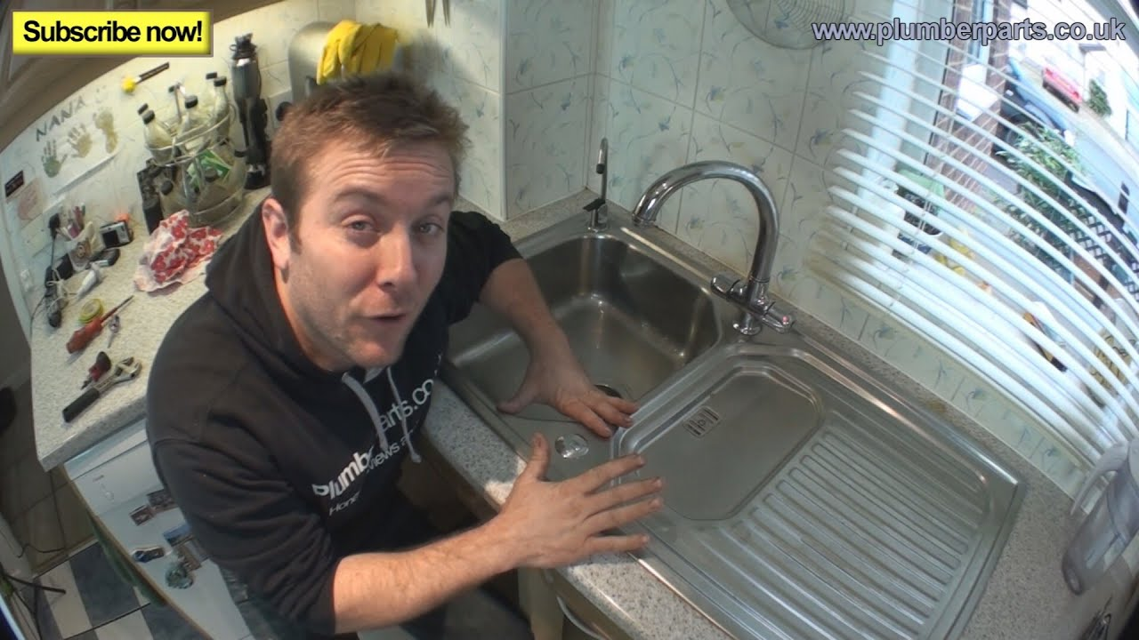 How To Remove Install Kitchen Sink Plumbing Tips Youtube