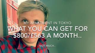 What apartment you can for $800/£563 in Tokyo JAPAN