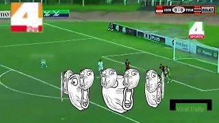 Gambar cover TERLUCU & KOCAK!! Valentino Simanjuntak SEMIFINAL Indonesia VS Thailand #(2-3) U19 AFF 2017