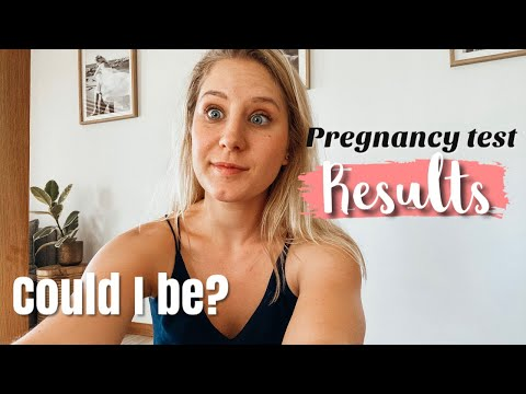I took a pregnancy test.. LIVE TEST.. Am I disappointed?