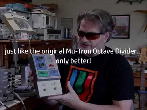 Mu-FX Octave Divider Demo By Rand Anderson
