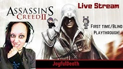 Assassin's Creed II Live Stream Blind Playthrough Gameplay