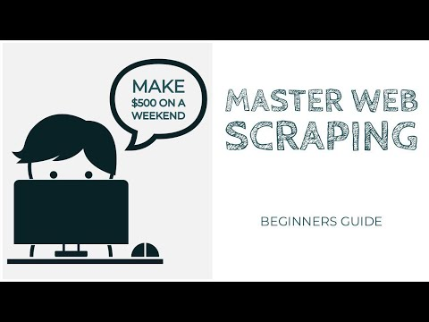 Master Web Scraping | Python Tutorial - Make An Extra $500 Over A Weekend. Up Your Amazon FBA Game