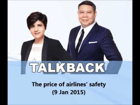 938LIVE Talkback - The price of airlines' safety (9 Jan 2015)