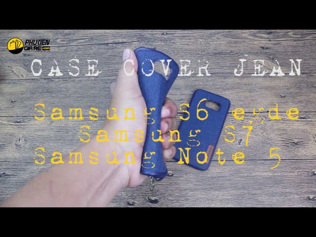 Ốp lưng jean Samsung Galaxy Note 5 - Jean back cover