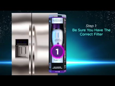How To Install Everydrop Ice Water Refrigerator Filter
