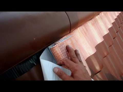 kupferband auf dem dach schutz gegen moos youtube