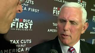 Exclusive interview with VP Mike Pence on tax reform