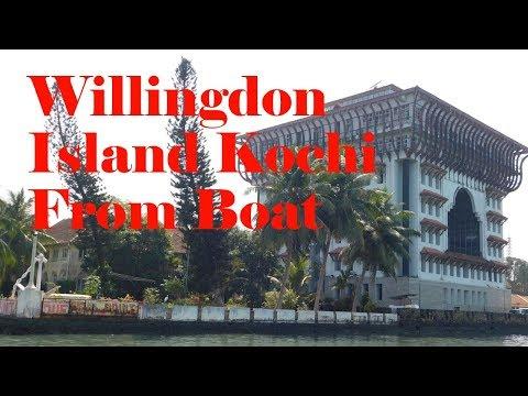 Willingdon Island, Kochi Seen From Boat 2