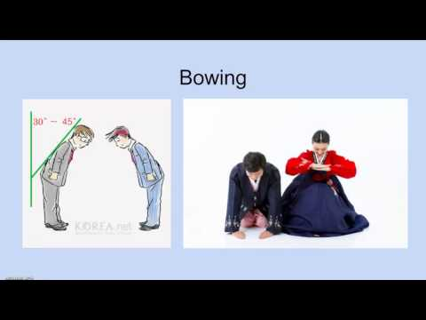 Korean Etiquette and Manners