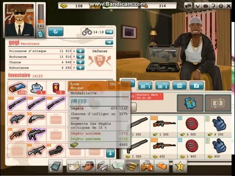 Goodgame Gangster gogi   venditions des petits armes épiques
