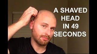 The Fastest, Easiest Way To Shave Your Head - Omnishaver