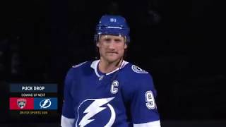 Tampa Bay Lightning 19-20 Opening Night Introductions
