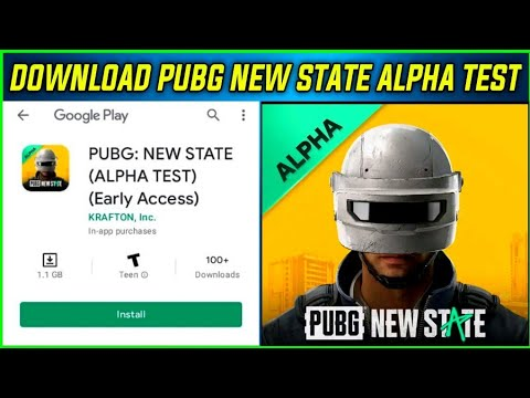 PUBG NEW STATE ALPHA TEST IS HERE I HOW TO DOWNLOAD PUBG NEW STATE