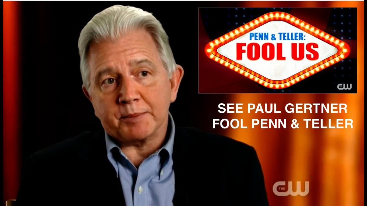 Penn & Teller get Fooled