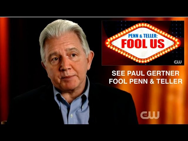 Penn & Teller get Fooled You Blew Our Minds.