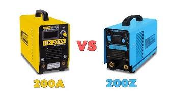 So sánh máy hàn que điện tử HỒNG KÝ HK 200A Và HK 200Z | Nên mua máy nào ?