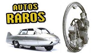 LOS 5 AUTOMÓVILES MÁS EXTRAÑOS QUE SE HAN CONSTRUIDO