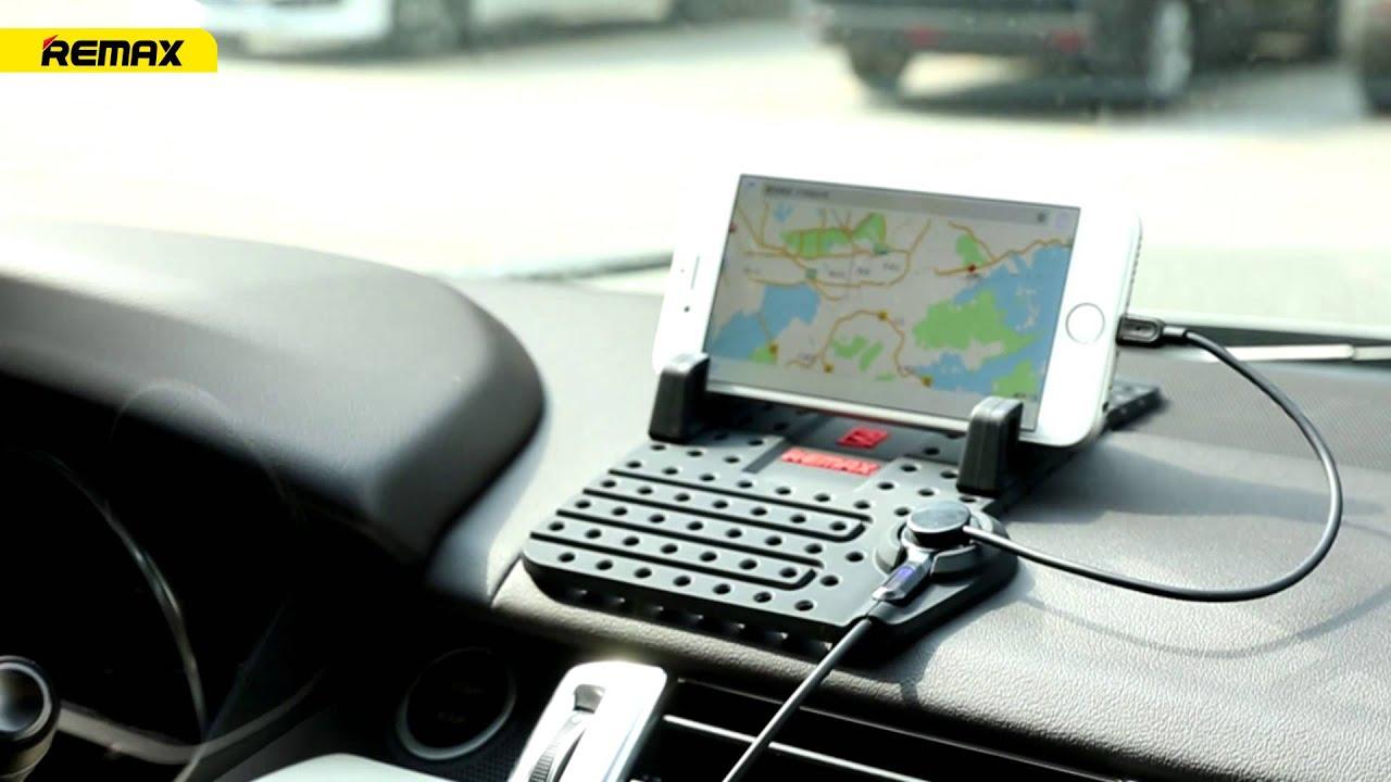 REMAX Smartphone Car Holder CS101 - YouTube