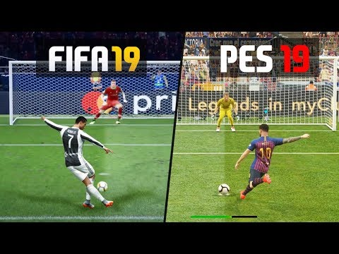 FIFA 19 vs PES 19: Penalty Kicks