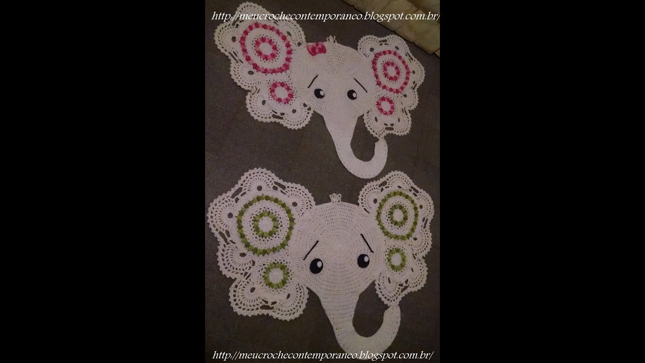 Crochet Animal Rugs Beautiful Patterns | The WHOot | 720x1280