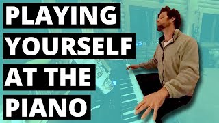 Playing yourself at the piano (360 Music Video)