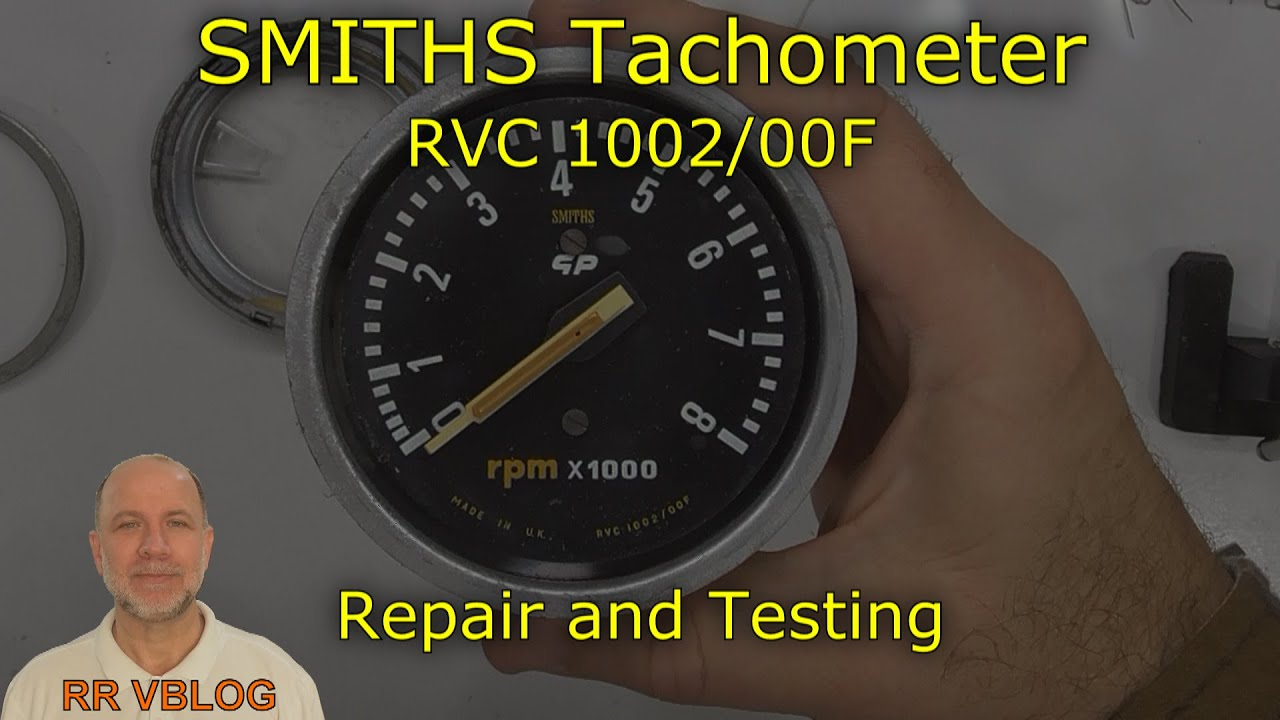 Repair And Testing Of Smiths Rvc 1002  00f Tachometer