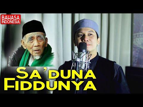 SA'DUNA FIDDUNYA Bahasa Indonesia - Full Lirik