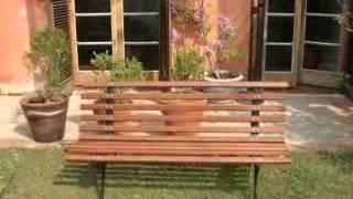 banco de jardim móvel para jardim