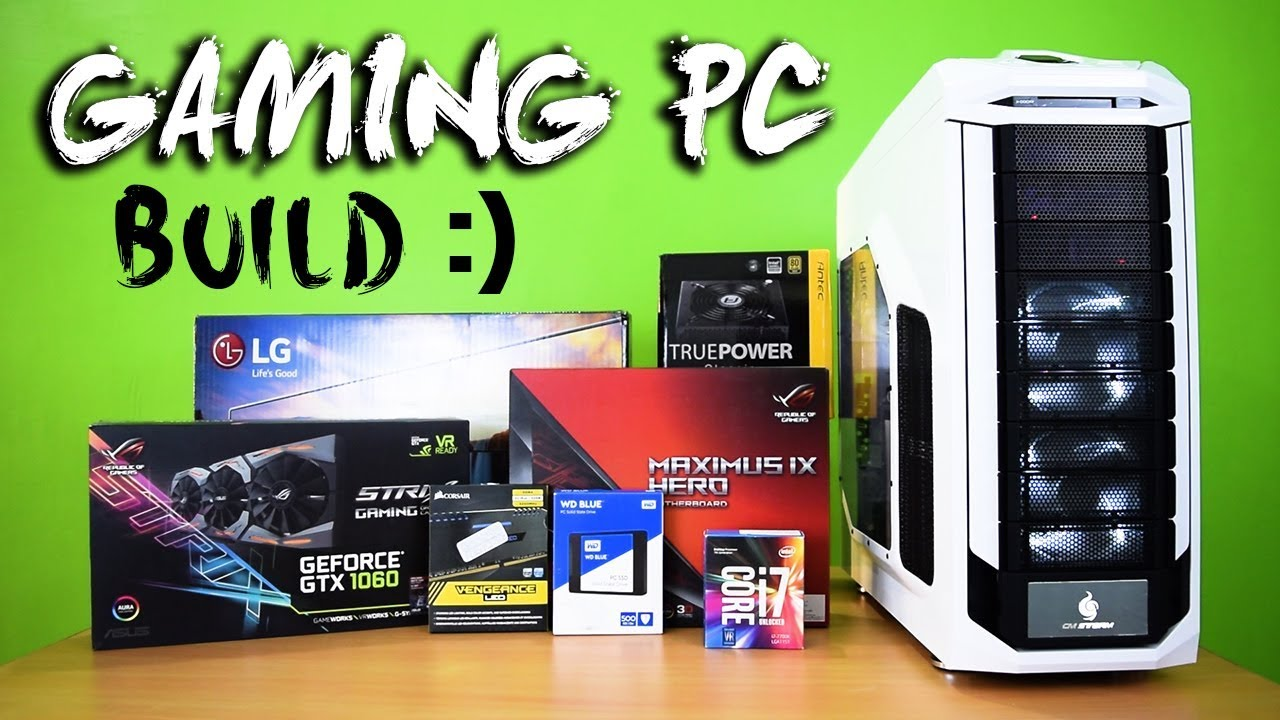 How to Build a 7th-GEN Gaming PC - Best Gaming & Video Editing Computer (  $2000 PC )