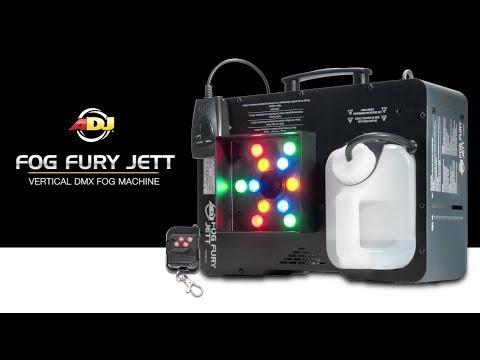 ADJ Fog Fury Jett & VF volcano overview