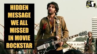 Most Important Hidden Message You Missed In Movie Rockstar