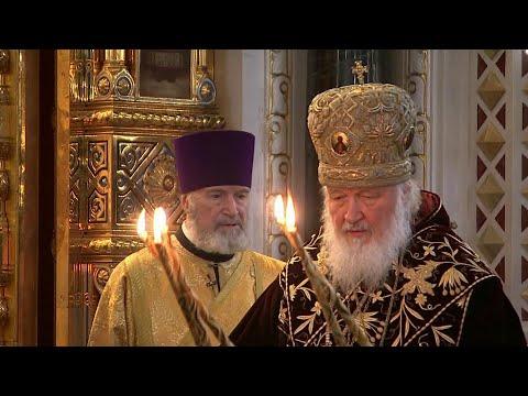 РПЦ отмечает 11-летие избрания патриарха Московского и всея Руси Кирилла на патриарший престол.