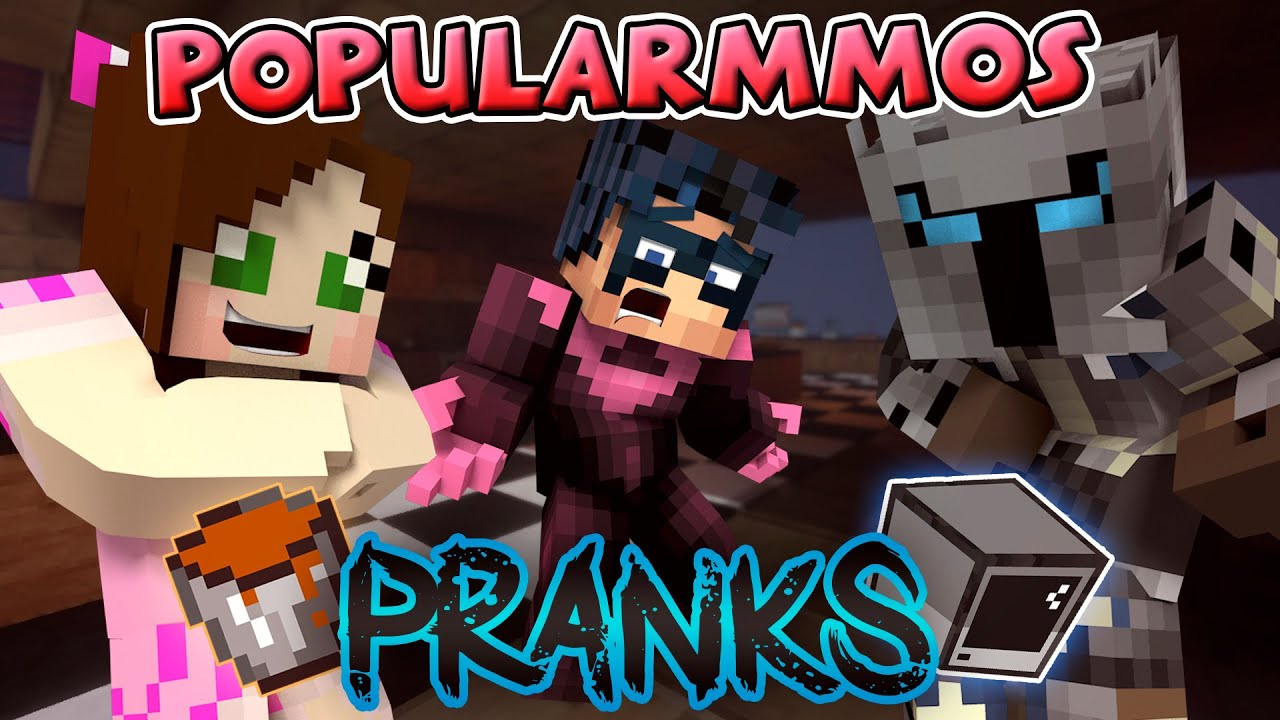dcc35a77 PopularMMOs and Gaming With Jen 's Revenge Prank! (Minecraft Roleplay) Pat  and Jen Custom Adventure!