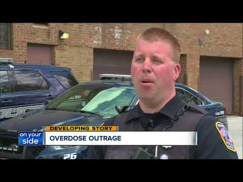 Caught on camera: Cuyahoga County sheriff's employee overdoses on the job, assaults firefighter