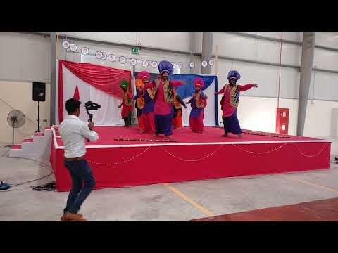 Bhangra Performance in Dubai by Al Rakha Group UAE (RAK Team) on Get Together Party.