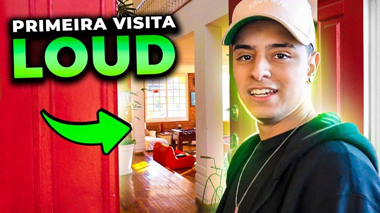 LOUD - ELE DECIDIU FICAR?! SQUAD ANTIGO DA LOUD VISITOU A NOVA CASA PELA PRIMEIRA VEZ!!