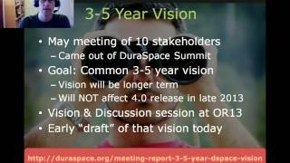 DSpace RoadMap & Vision at 2103 OAI8 DSpace User Group thumbnail