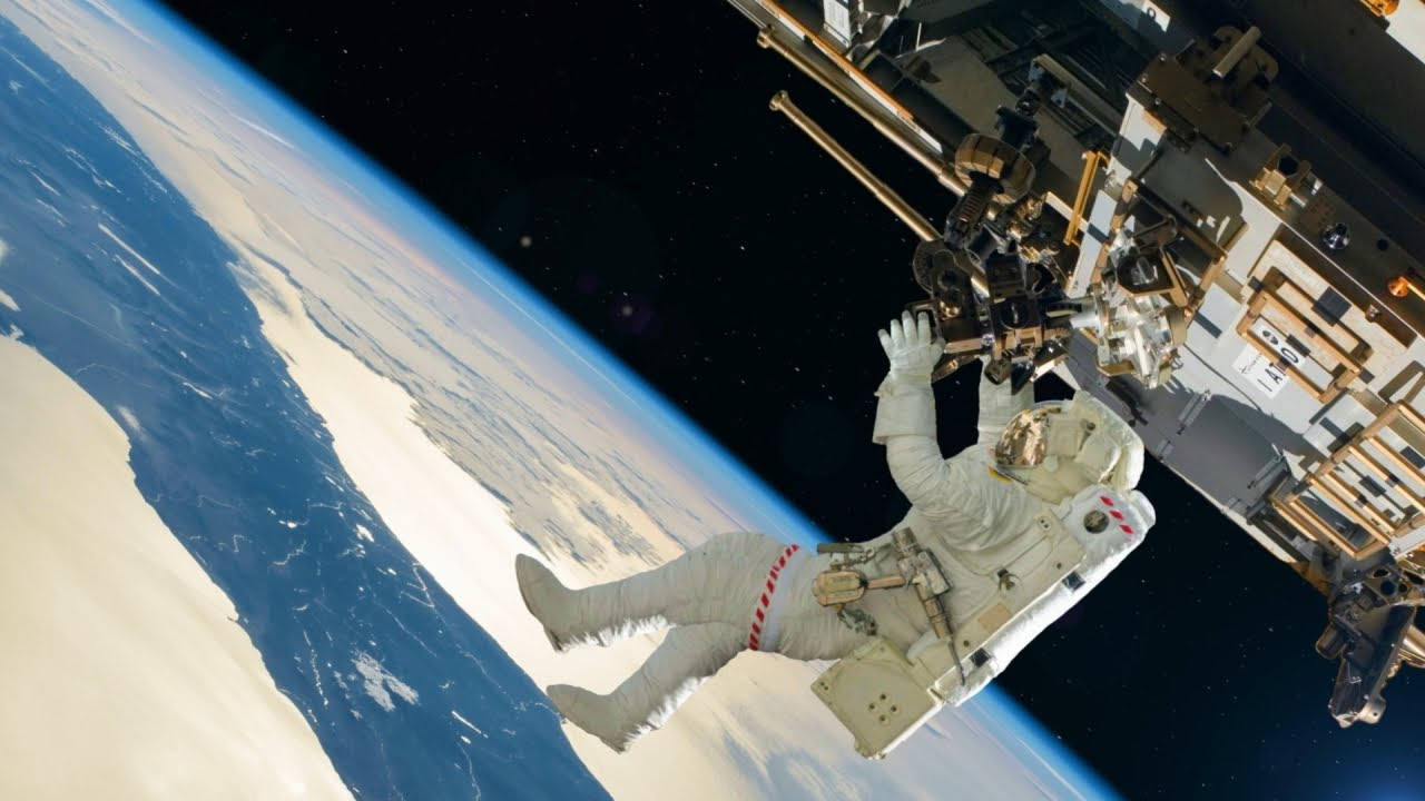an astronaut goes out for a space walk - photo #37