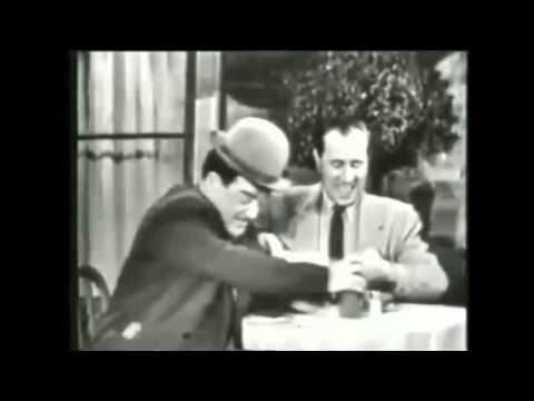 Abbot and Costello Classic live TV Colgate Theater