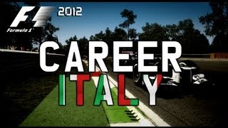 F1 2012 Career Mode Walkthrough Episode 13 Italian Grand Prix
