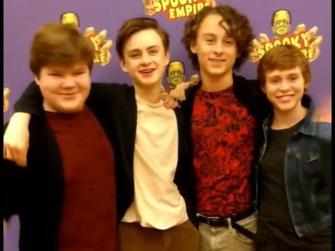IT Movie Cast wishes Happy Halloween - YouTube