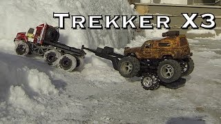 Rc Cwr And 3 Losi Trail Trekkers Snow Challenge