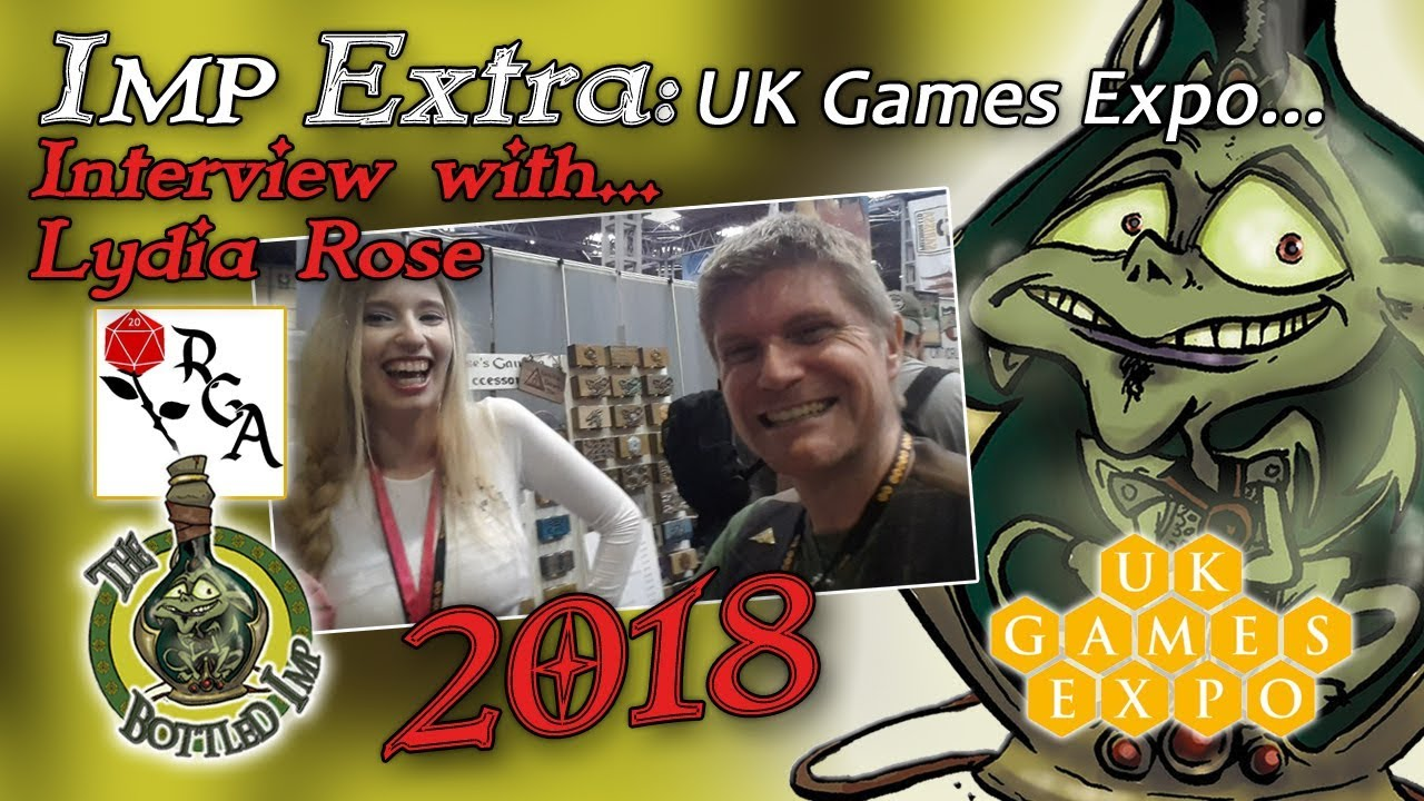Imp Extra: UK Games Expo 2018: Lydia Rose of Rose's Gaming Accessories Interview